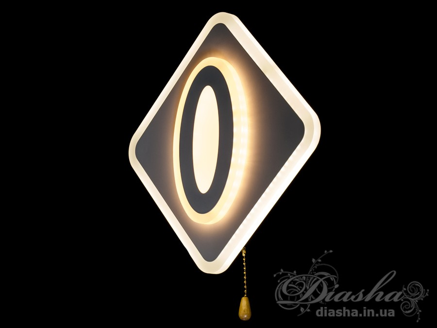 Светодиодный светильник настенно-потолочный 22WСветодиодные бра, светодиодные панели, Новинки
