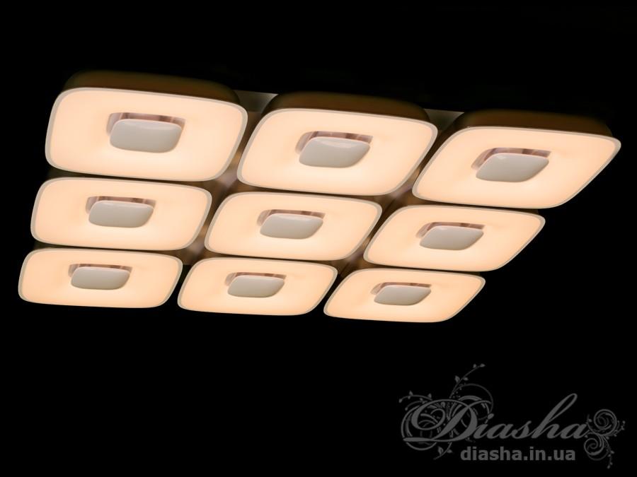 Светильник с регулируемым цветом свечения 185WПотолочные люстры, Светодиодные люстры, светодиодные панели, Люстры LED