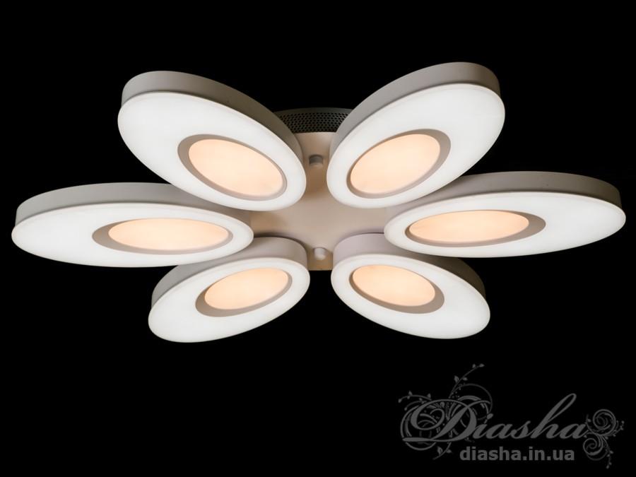 Светильник с регулируемым цветом свечения 140WПотолочные люстры, Светодиодные люстры, светодиодные панели, Люстры LED