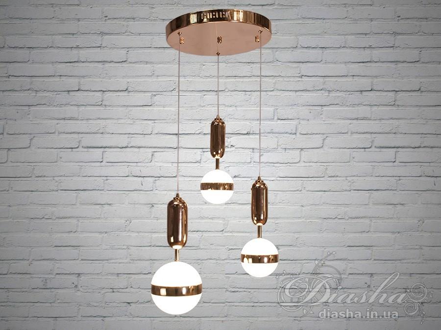 Светильник в скандинавском стиле 37WПодвесы LED, Минимализм, Светильники