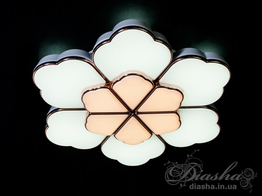 Светильник с регулируемым цветом свечения 120WПотолочные люстры, Светодиодные люстры, светодиодные панели, Люстры LED