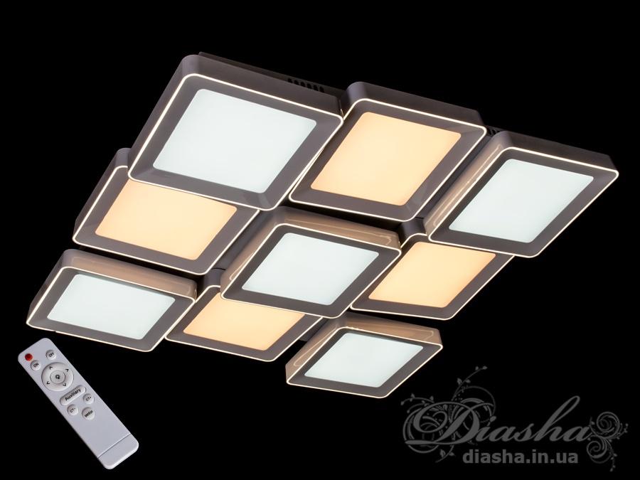 Светильник с регулируемым цветом свечения 270WПотолочные люстры, Светодиодные люстры, светодиодные панели, Люстры LED, Новинки