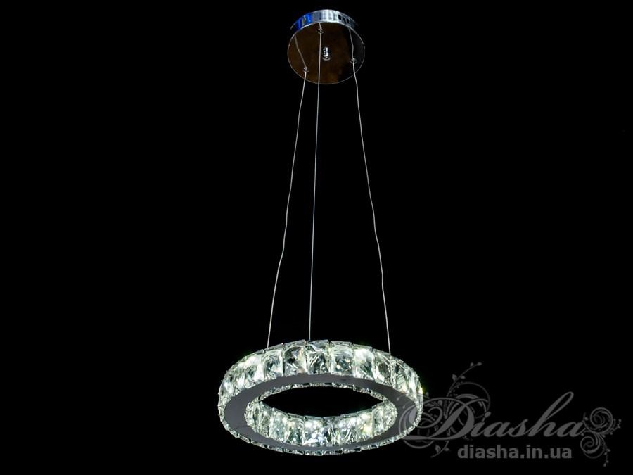 Хрустальная светодиодная люстра-подвес, 20WСветодиодные люстры, Люстры LED, Подвесы LED