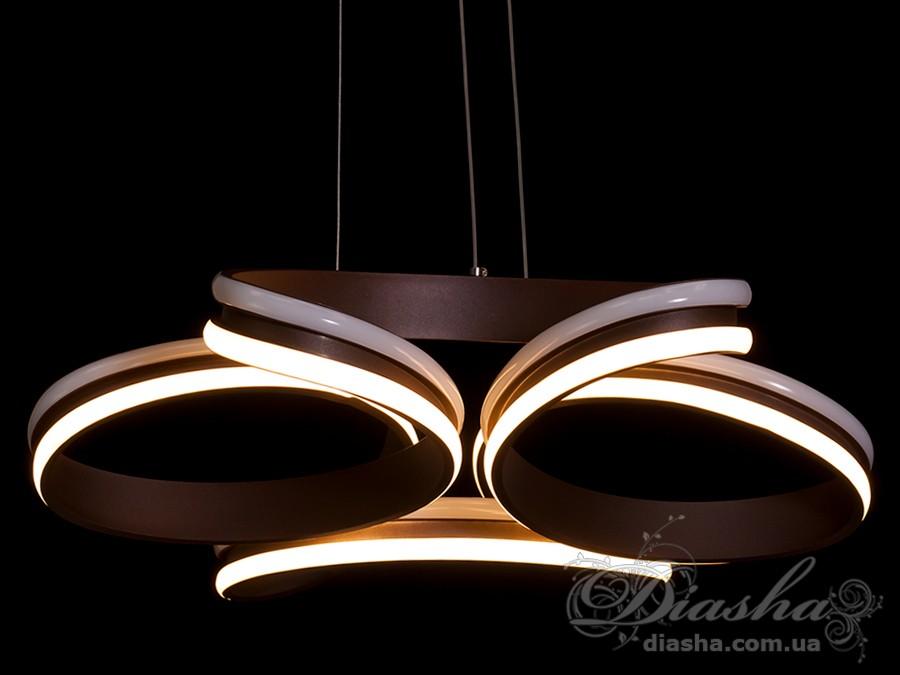 Современная светодиодная люстра, 110WСветодиодные люстры, Люстры LED, Подвесы LED, Новинки