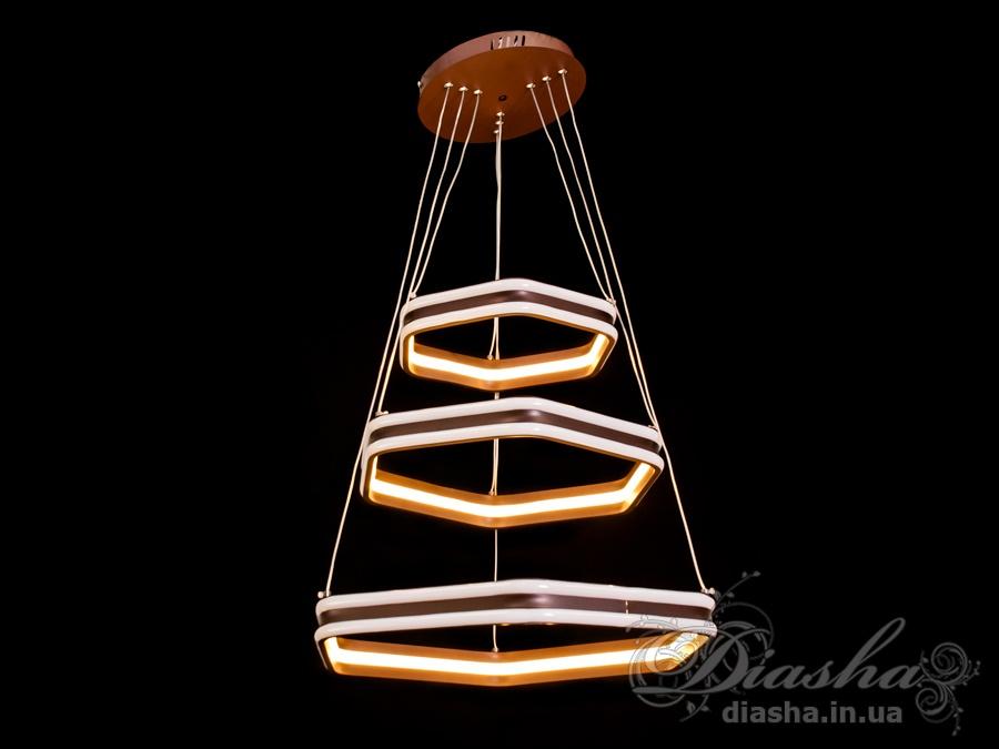 Современная светодиодная люстра, 150WСветодиодные люстры, Люстры LED, Подвесы LED, Новинки
