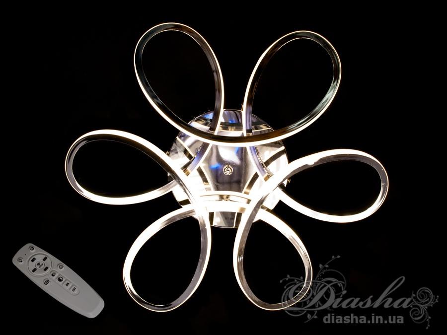 Потолочная светодиодная люстра 45WПотолочные люстры, Светодиодные люстры, Люстры LED, Потолочные, Новинки