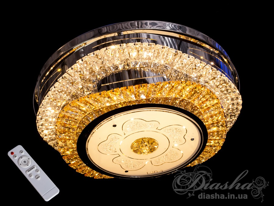 Хрустальная люстра с диммером, 115WСветодиодные люстры, Люстры LED, Подвесы LED, Новинки