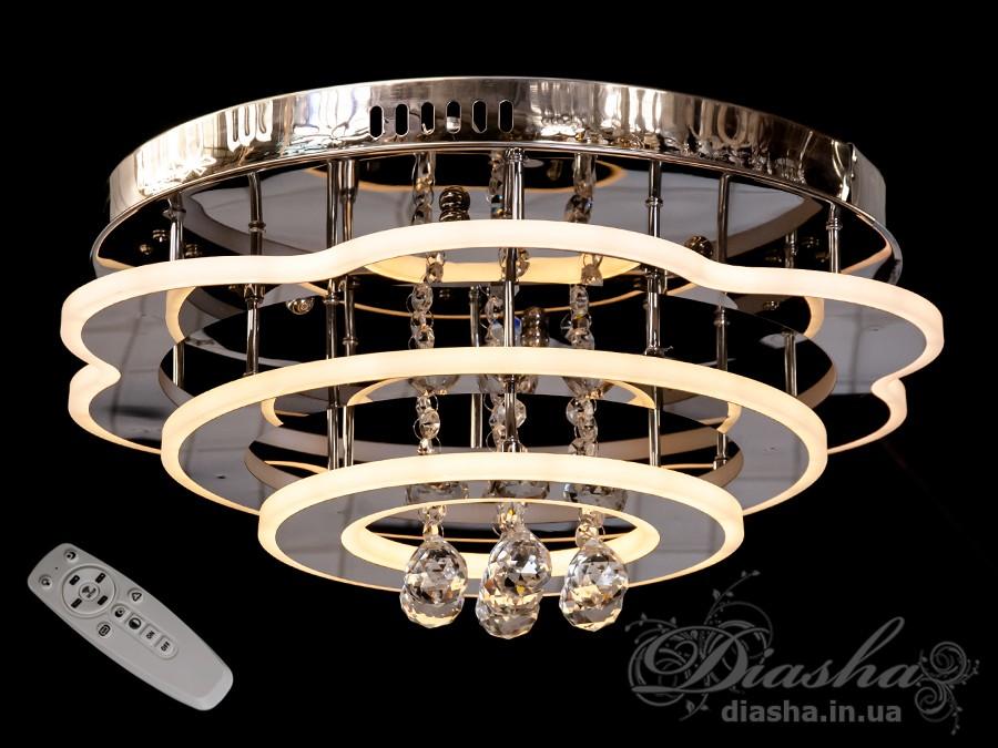 Светодиодные люстры «торт» с димером, 105WПотолочные люстры, Люстра