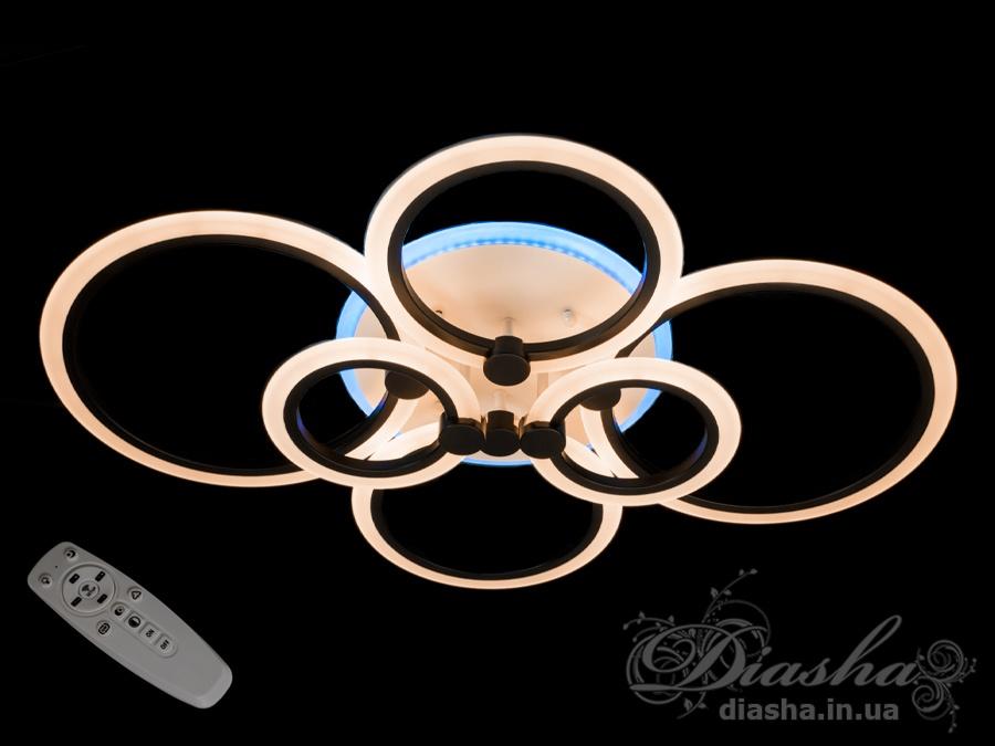 Потолочная светодиодная люстра 120WПотолочные люстры, Светодиодные люстры, Люстры LED, Потолочные, Новинки