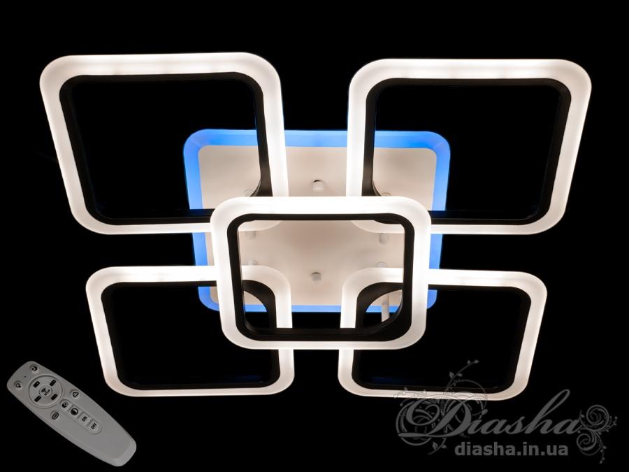 Потолочная светодиодная люстра 115WПотолочные люстры, Светодиодные люстры, Люстры LED, Потолочные, Новинки