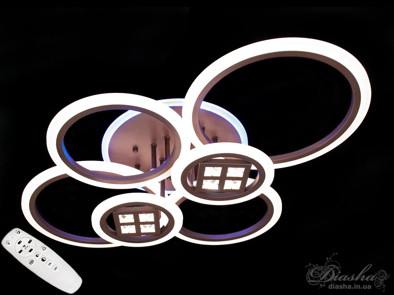 Потолочная светодиодная люстра с диммером 150W