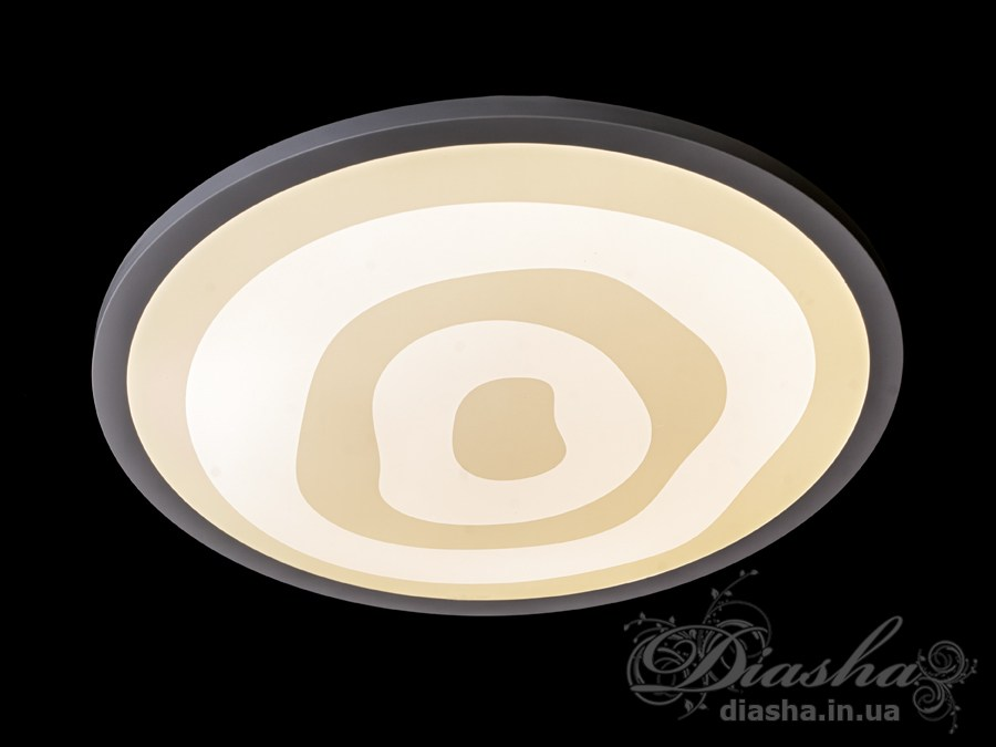 Светильник с регулируемым цветом свечения, 82WПотолочные люстры, Светодиодные люстры, светодиодные панели, Люстры LED, Новинки