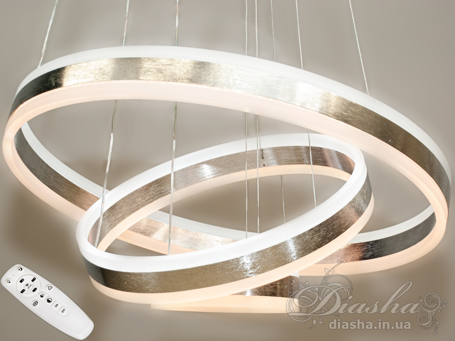 Современная светодиодная люстра с диммером, 170W