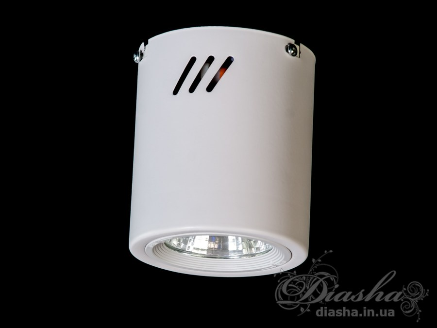 Накладной светодиодный точечный светильник 10WLED downlights, Источники направленного света, Точечные светильники, Подсветка для витрин, Накладные точечные светильники