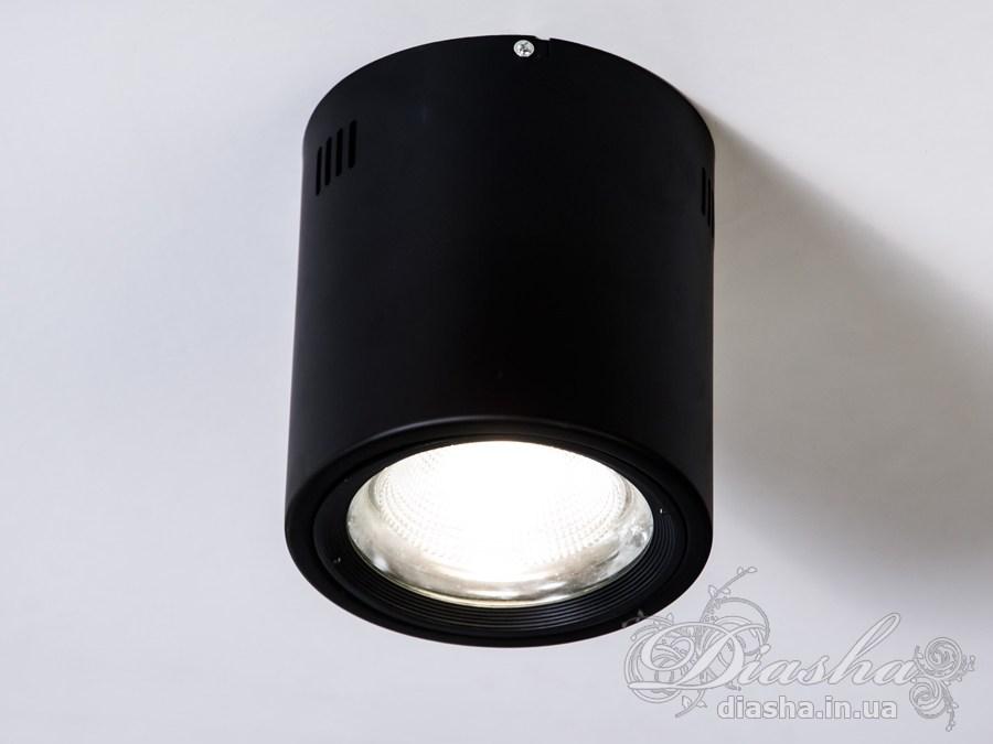 Накладной светодиодный точечный светильник 20WLED downlights, Источники направленного света, Точечные светильники, Подсветка для витрин, Накладные точечные светильники