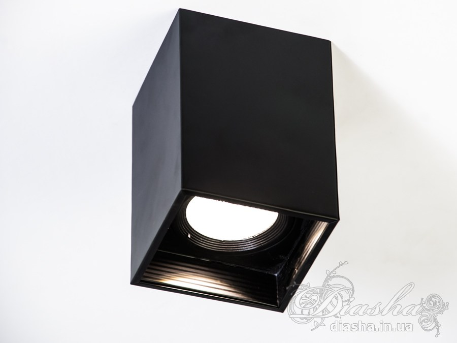 Накладной светодиодный точечный светильник 10WLED downlights, Источники направленного света, Точечные светильники, Подсветка для витрин, Накладные точечные светильники, Светильники-тубы