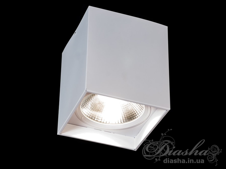 Накладной светодиодный точечный светильник 50WLED downlights, Источники направленного света, Точечные светильники, Подсветка для витрин, Накладные точечные светильники, Светильники-тубы, Новинки