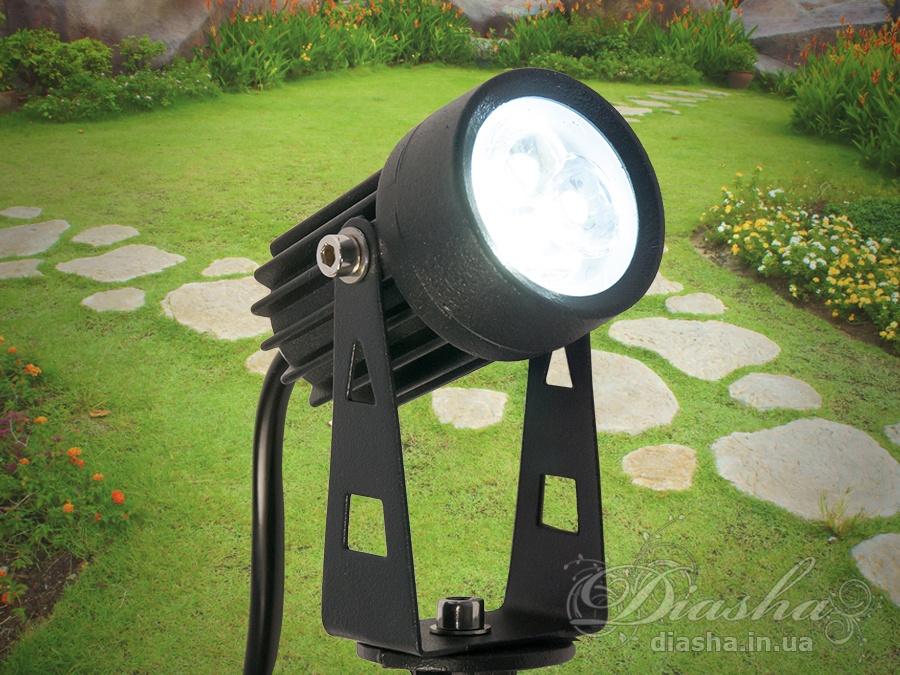 Светильник садово-парковый светодиодный, 3wсадовые светильники, уличные светильники, Новинки