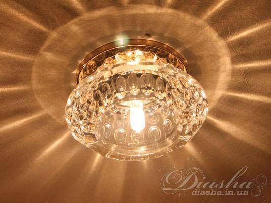 Точечные светильники давно и прочно вошли в наш быт.В данном модельном ряду мы представляемВам точечные светильники, способные объединить в себе самые главные качества – это равномерное освещение и возможность акцентирования определенных деталей интерьера, с изящностью, элегантностью и неповторимым блеском классических люстр. Использование LED ламп в точечных светильниках позволяет почти в десять раз сократить потребление электроэнергии. Расходы на установку светодиодной лампы окупаются за счет экономии менее чем за год, в тоже самое время срок службы LED ламп – это десятки тысяч часов.Также, как и раньше, в хрустальных светильниках возможно использование галогеновых ламп на 12 и 220 вольт.Лампа и трансформатор в комплект не входят.Для оптовых покупателей отпускается только ящиками по 50шт.
