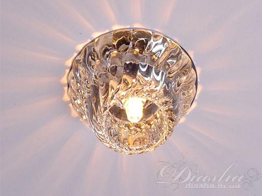 Представленный здесь точечный светильник не просто очаровательно выглядет, но и способен украсить любую квартиру. А заодно – и обеспечить Вам комфорт на уровне, который превышает все самые необычайные ожидания. Мы с удовольствием представляем Вам точечные светильникис использованием экономичных LED ламп, мощностью всего в несколько ватт. Подобное использование позволяет почти в десять раз сократить потребление электроэнергии. Расходы на установку светодиодной лампы окупаются (за счет экономии) менее, чем за год, в то время, как срок службы LED ламп - десятки тысяч часов.Также, как и раньше, в хрустальных светильниках возможно использование галогеновых ламп на 12 и 220 вольт.Для оптовых покупателей отпускается только ящиками по 50шт.Лампа и трансформатор в комплект не входят.