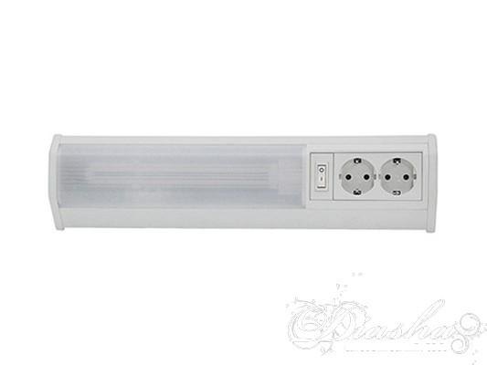 Электронная настенная лампа с интегрированным электронным пускорегулирующимустройством и выключателем установленным прямо на корпусе светильника, является наиболее компактным и недорогим решением для технического освещения, подсветки витрины, полок, освещения кухонной рабочей поверхности и тд. Лампа уже в комплекте. Вам надо всего лишь включить светильник в сеть и вы получите равномерное рассеяное освещение.