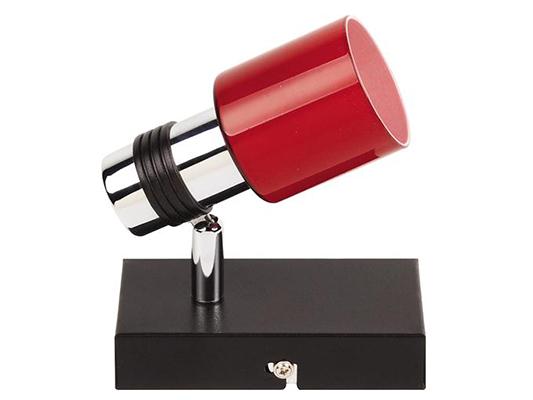 Рады представить нашим покупателям универсальные источники света - споты. Спот может использоваться и как бра, и как подсветка для зеркала и как люстра. Компактность спотов позволяет расставлять их как обычные врезные светильники. Возможность изменять направление света позволяет самостоятельно расставить, а затем и менять световые акценты. Новая серия светильников ярко красного цвета поможет подчеркнуть стиль Вашего дизайна, добавить яркую изюминку в общую композицию