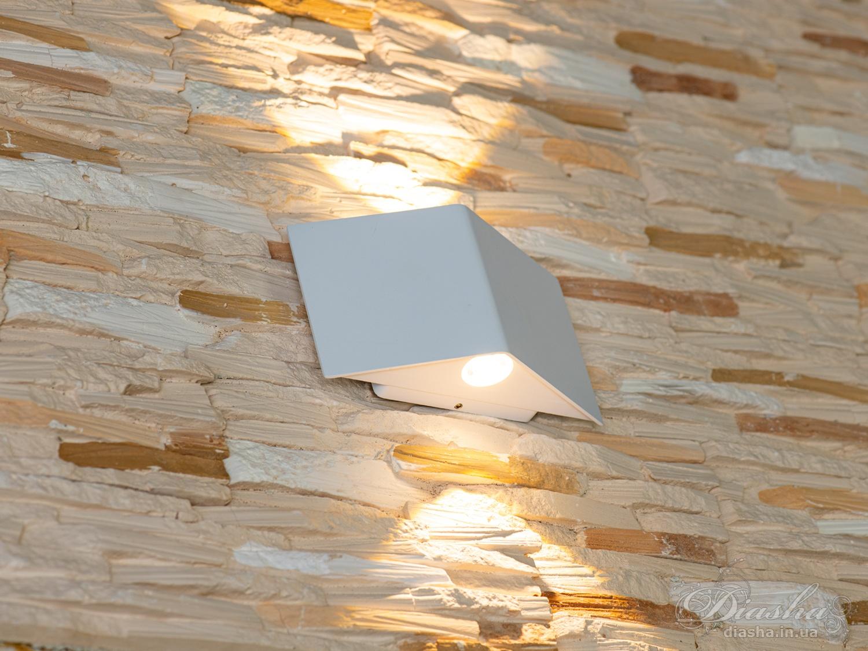 Накладная архитектурная LED подсветка, 6ВтФасадные светильники, Светодиодные бра, LED светильники, уличные светильники, Архитектурная подсветка, Новинки