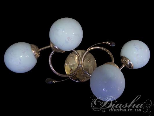 Потолочная люстра на 4 лампыНедорогие люстры