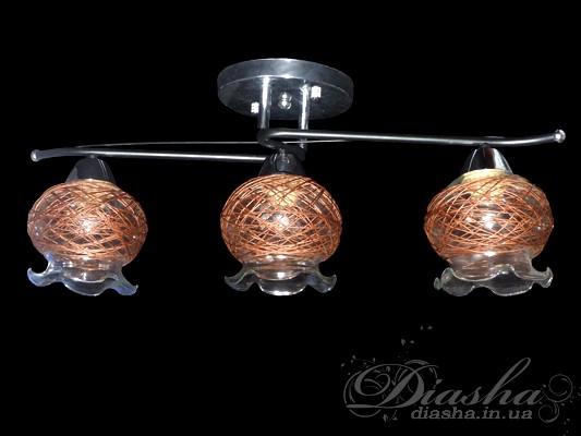 Потолочная люстра на 3 лампыНедорогие люстры