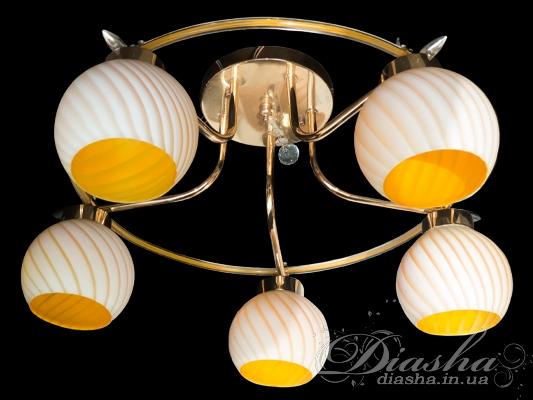 Потолочная люстра на 5 лампНедорогие люстры
