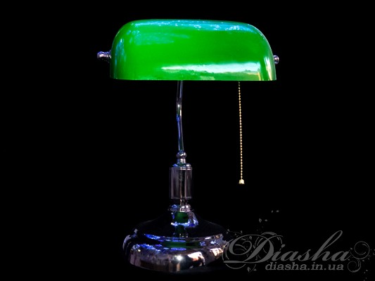 Элегантная настольная лампа в классическом стиле идеально подойдет как для офиса так и для дома. Лампа представлена в двух вариантах с синим. зеленым плафоном.