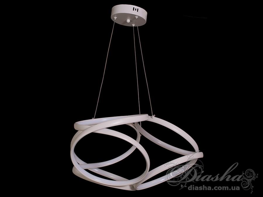 Современная светодиодная люстра, 80WСветодиодные люстры, Люстры LED, Подвесы LED