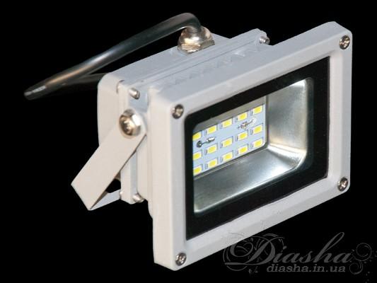 Матричный светодиодный прожектор 10ВтСветодиодные прожектора, Технические светильники, уличные светильники, Lemanso
