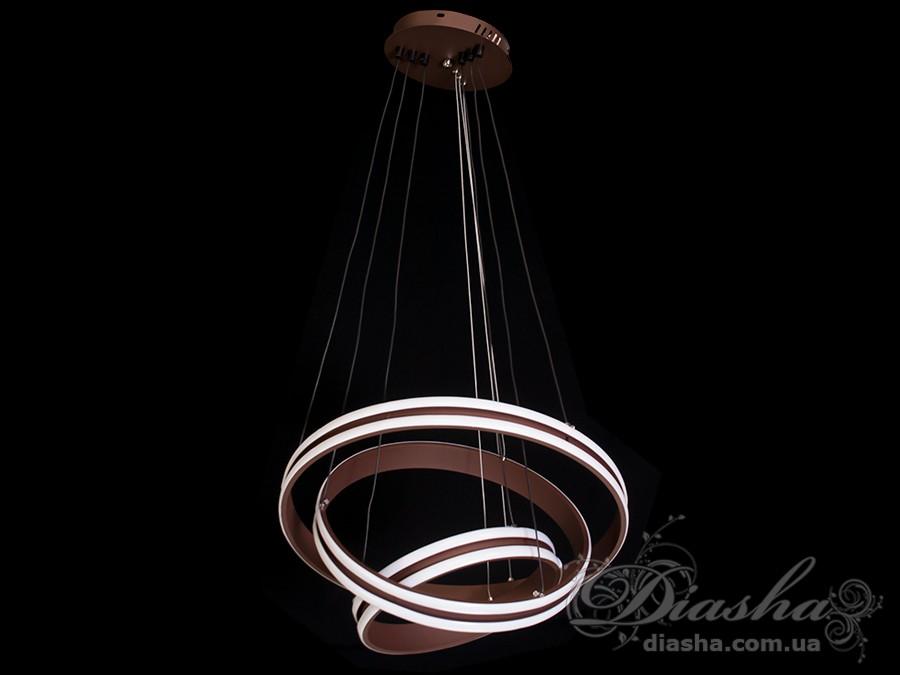 Современная светодиодная люстра, 95WСветодиодные люстры, Люстры LED, Подвесы LED, Новинки