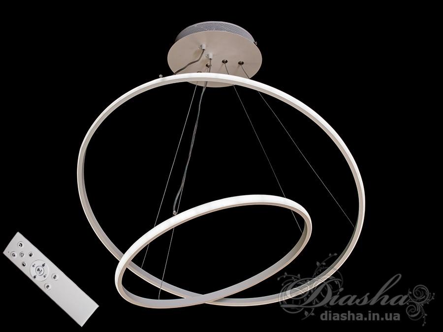 LED люстра с диммером, 90WСветодиодные люстры, Люстры LED, Подвесы LED, Новинки