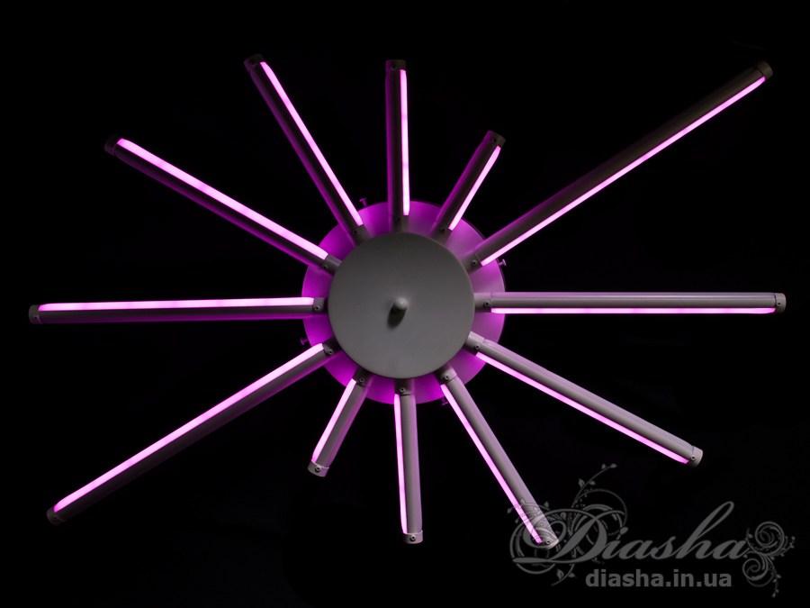 Потолочная светодиодная люстра 130WПотолочные люстры, Светодиодные люстры, Люстры LED, Потолочные, Новинки
