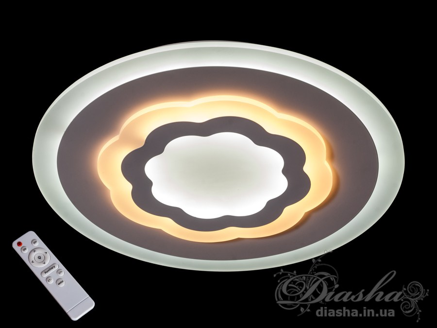 Потолочная светодиодная люстра с диммером 70WПотолочные люстры, Светодиодные люстры, Люстры LED, Потолочные, светодиодные панели, Новинки
