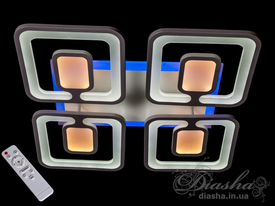 Світлодіодна люстраПотолочные люстры, Светодиодные люстры, Люстры LED, Потолочные, Новинки