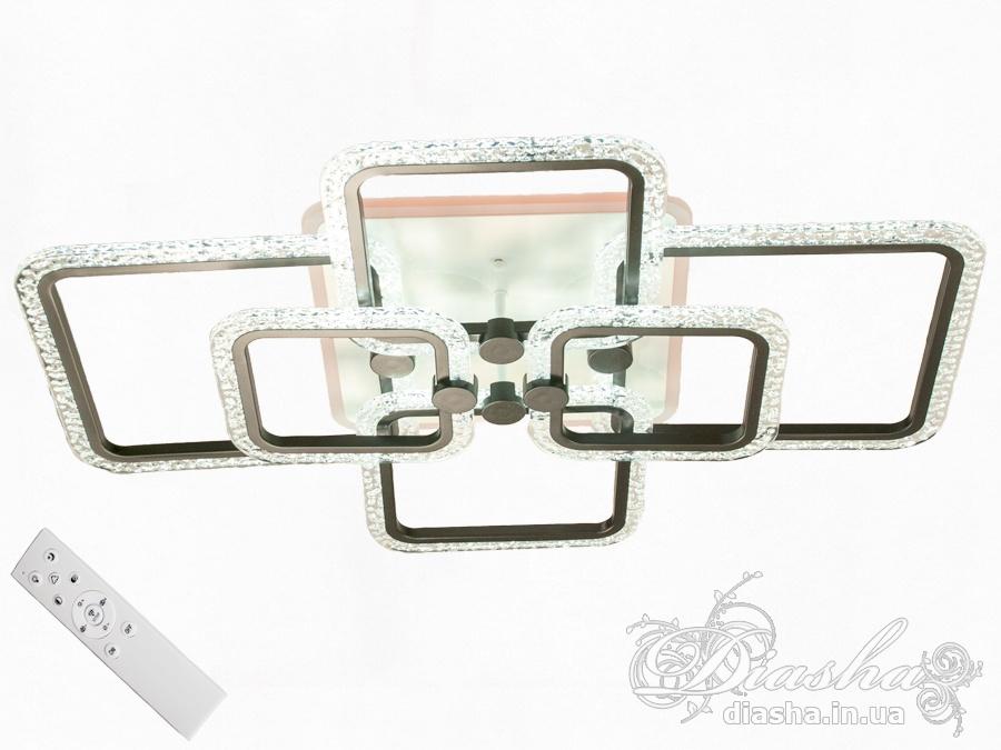Потолочная светодиодная люстра с диммером 130WПотолочные люстры, Светодиодные люстры, Люстры LED, Потолочные, Новинки