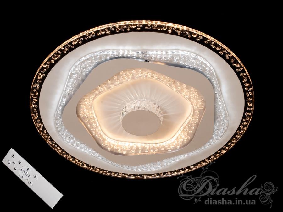 Потолочная светодиодная люстра с диммером 95WПотолочные люстры, Светодиодные люстры, Люстры LED, Потолочные, светодиодные панели