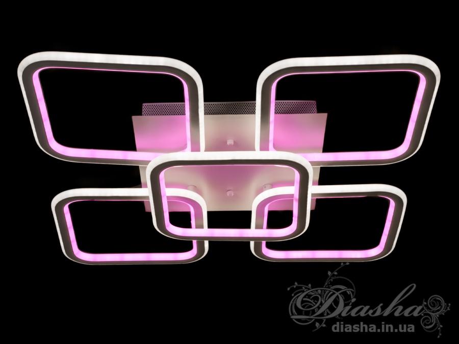 Потолочная светодиодная люстра 140WПотолочные люстры, Светодиодные люстры, Люстры LED, Потолочные, Новинки