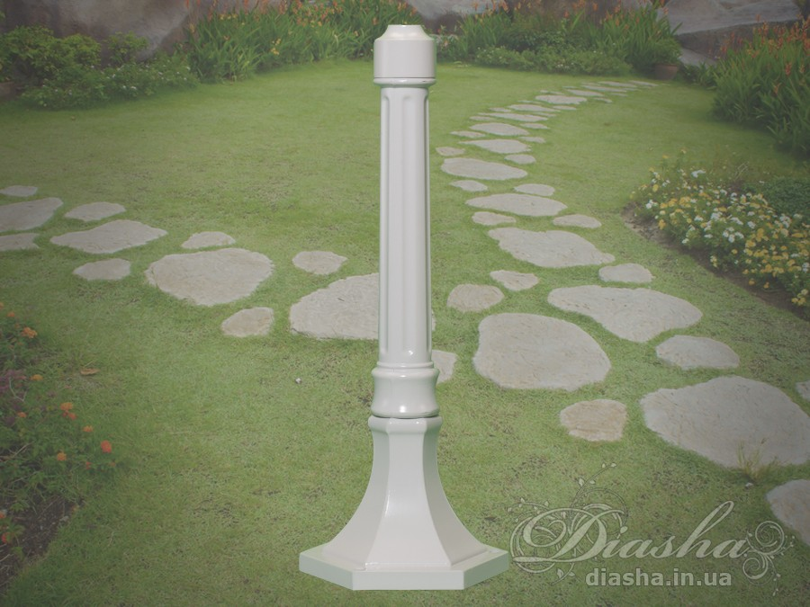 Доборной столб, для любого светильника серии DJ. Также может быть использован для увеличения высоты других фонарей-столбов.