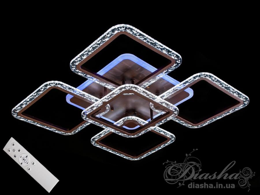 Потолочная светодиодная люстра с диммером 105WПотолочные люстры, Светодиодные люстры, Люстры LED, Потолочные, Новинки