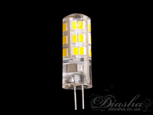 Повышенный срок эксплуатации, отсутствие вредных веществ, безопасность для окружающей среды, отсутствие мерцания и шума, минимальное выделение тепла, экономия электроэнергии, а значит и Ваших материальных затрат - разве этот перечень не убеждает Вас в преимуществе покупке светодиодных ламп перед остальными?! Представленная здесь светодиодная лампа под патрон G4 заменяет обыкновенную «галогенку», мощностью 20-35Вт. LED лампа не требует для запуска блока питания и трансформатора, и может быть подключена напрямую в сеть 220 вольт.