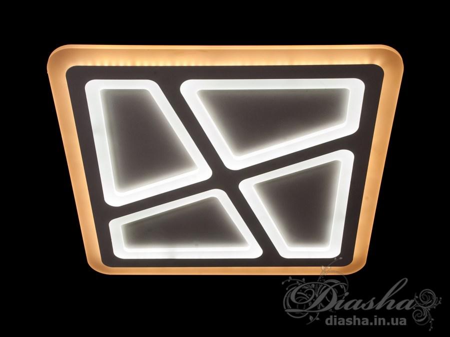 Потолочная светодиодная люстра с диммером 135WПотолочные люстры, Светодиодные люстры, Люстры LED, Потолочные, Новинки