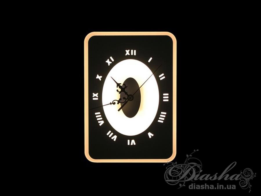 Светодиодный светильник-часыСветодиодные бра, Новинки