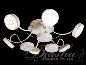 Современная светодиодная люстраСветодиодные люстры, Люстры LED, Потолочные, Поступление 04-08-2016, Новинки