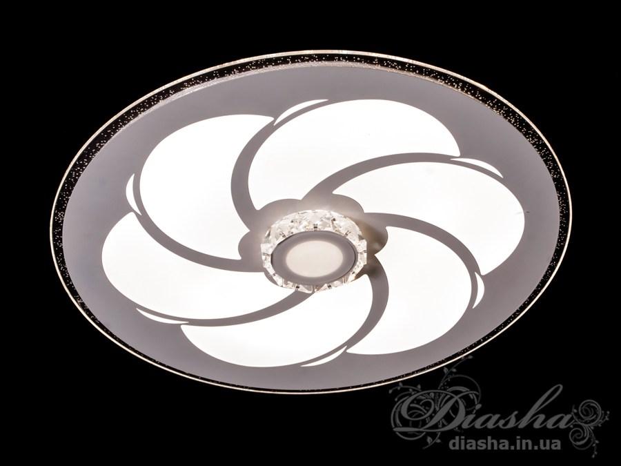 Потолочная светодиодная люстра 60WПотолочные люстры, Светодиодные люстры, светодиодные панели, Люстры LED