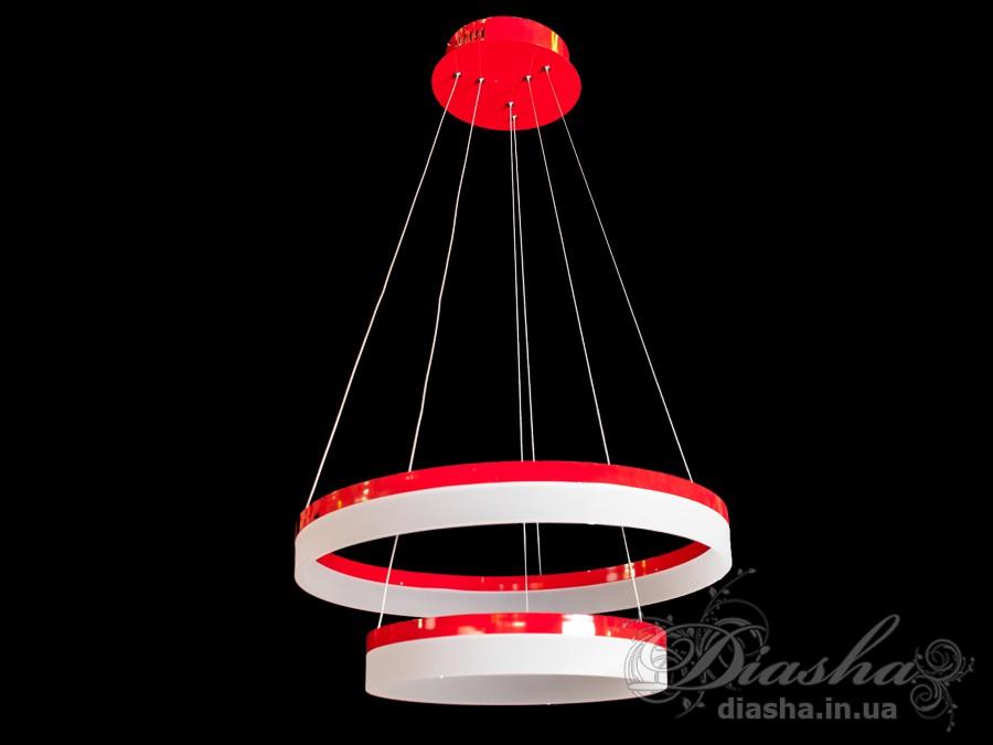 Современная светодиодная люстраСветодиодные люстры, Люстры LED, Подвесы LED, Новинки