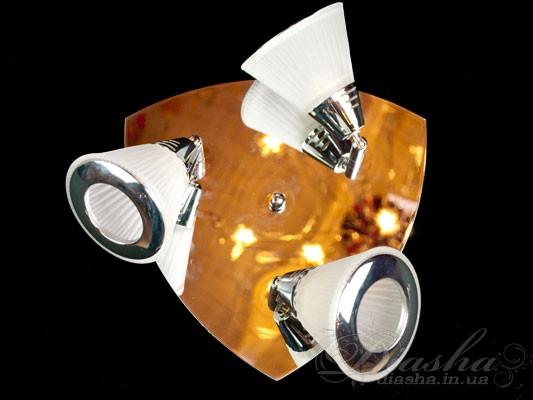 Мы с удовольствием представляем нашим покупателям универсальные источники света - споты. Спот может использоваться и как бра, и как подсветка для зеркала, и как люстра. Компактность спотов позволяет расставлять их, как обычные врезные светильники. Возможность изменять направление света позволяет самостоятельно расставить, а затем и менять световые акценты. Споты данной серии расчитаны на стандартные лампы накаливания, светодиодные лампы или экономки с патроном Е14. Благодаря этому, Вам не прийдется проходить десятки магазинов в поисках специализированных ламп.Возможно исполнение металлических частей в золотом и хромированном вариантах.